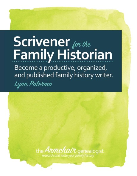 Scrivener for the Family Historian